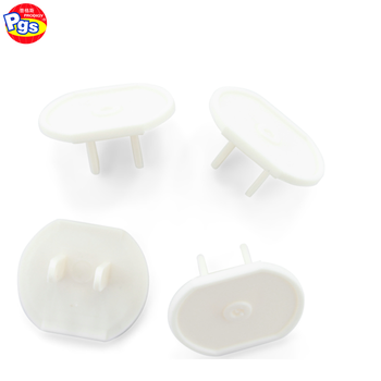 Baby Safety Plastic Two Pins Plug Protectorsafety Electrical Plug