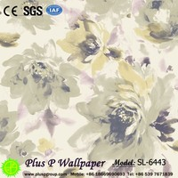 decorative wood wall covering panels pvc wallpaper design vinyl wallpaper