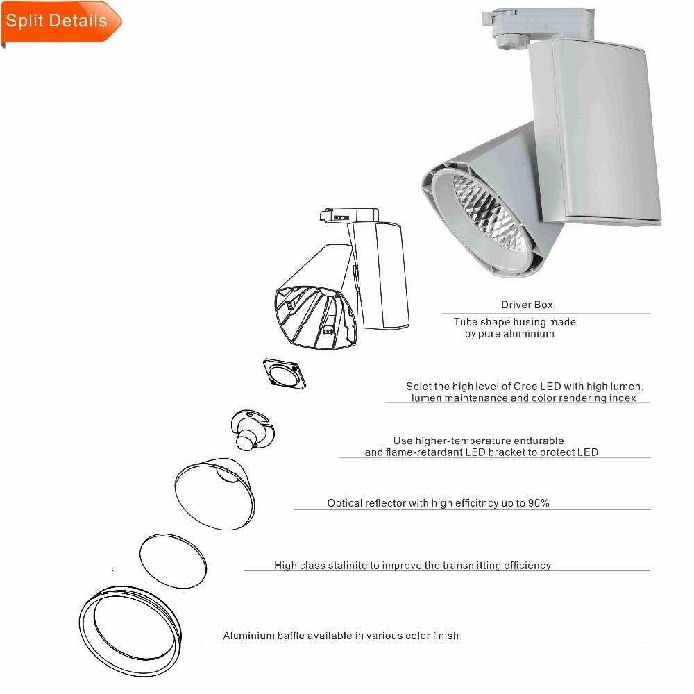 3 Circuit Phase China Supplier Track Led Spot Lightstrack Light System Ld011 1