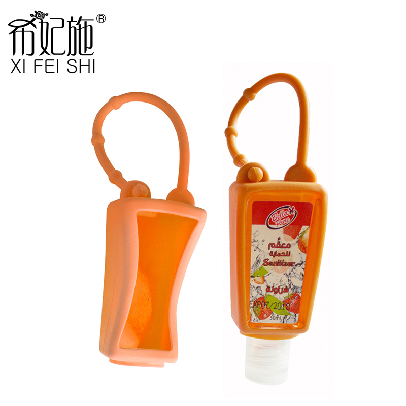 Simple Style 30ml Hot Selling Antibacterial Gel Hand Sanitizer Holders for Travel