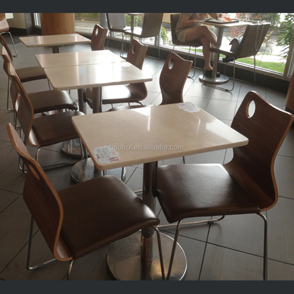 export saudi arabia solid surface coffee shop tables and chair