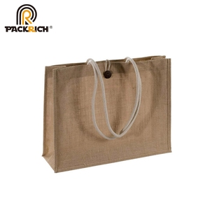 Wholesale Promotion Linen Hessian Hemp Jute Grocery Shopping Burlap Beach Tote Bag With Handle,picture of jute bag