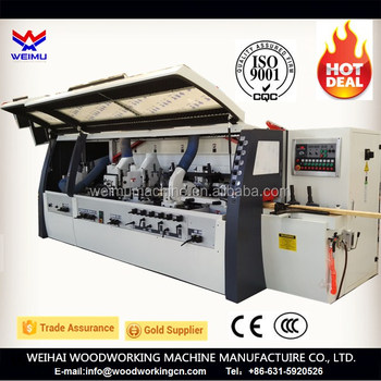 Ce 4 Side Moulder Wood Flooring Machinery 4 Sided Planer