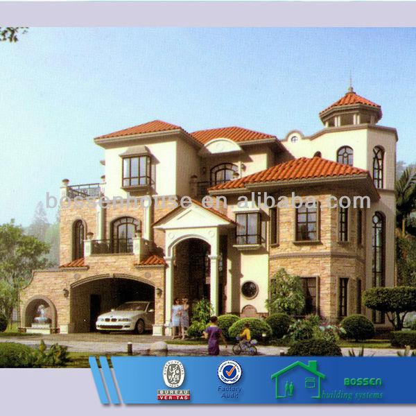 Moderna villa di lusso in acciaio di alta qualit for Case prefabbricate lusso