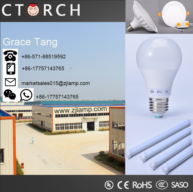 Torch shape CE Approved Led torch Bulb 16W