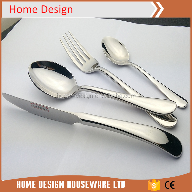 ss18/10 High quality stainless steel hotel cutlery liou
