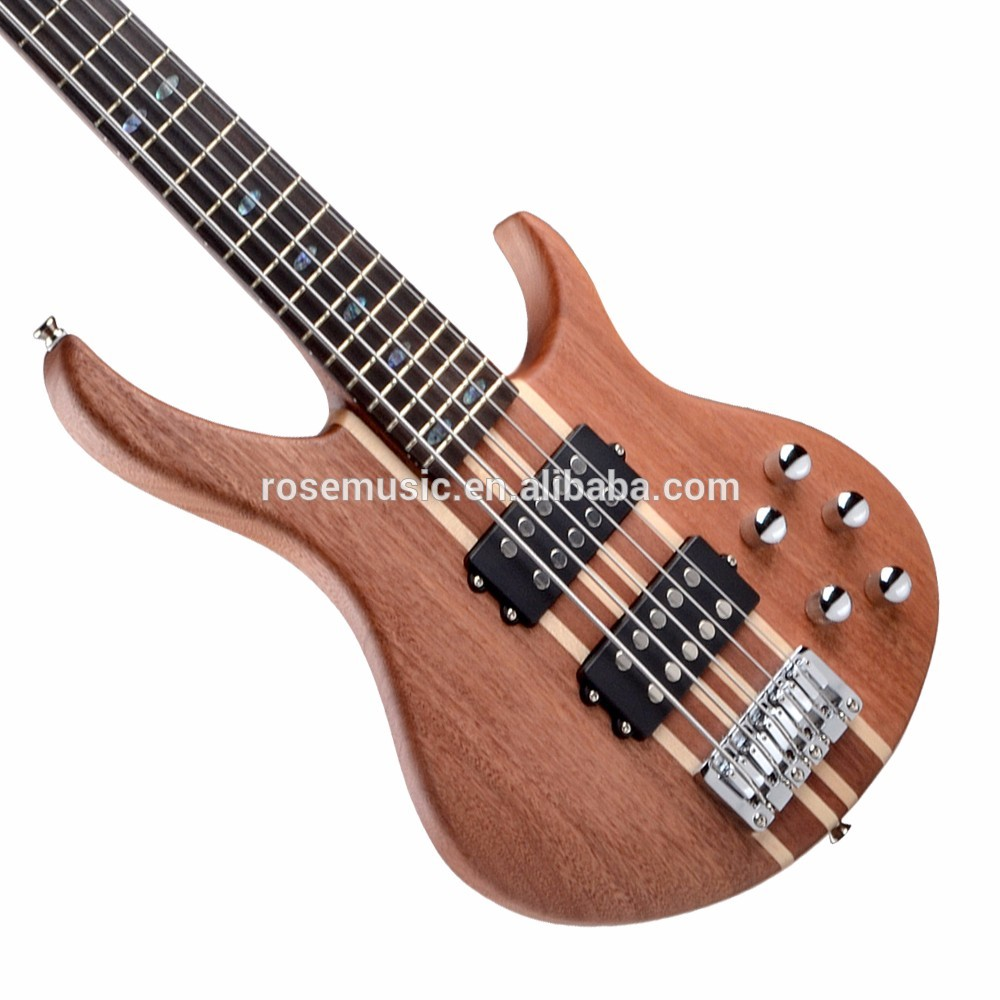Hot sale  bass guitar right handed 5 string electric bass guitar