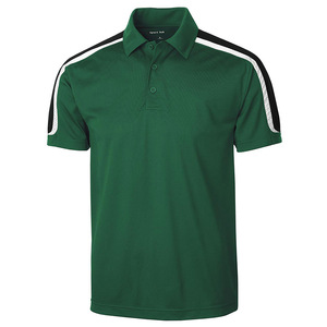 Style Sport Men's Wicking Snag-Resistant Stripe Polo Shirt