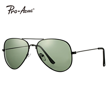 Pro Acme Large Metal Polarized pilot Sunglasses for mens women PA3026