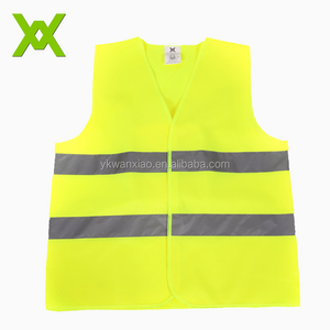 Customized Hi Vis security safety company logo running best reflective vest