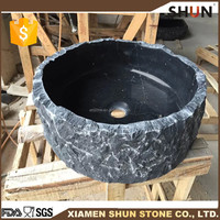 Customized Black bathroom sink for washing hand, Cheap marble sinks