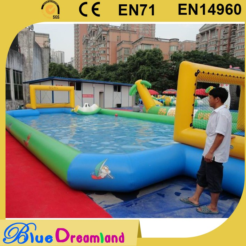 High quality inflatable pool soccer table