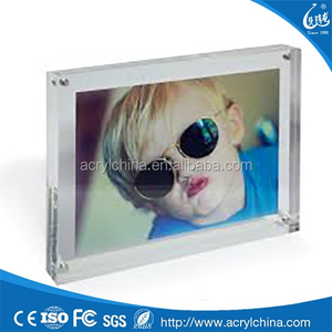 imported lovely boy cheap acrylic picture frames in bulk with magnet