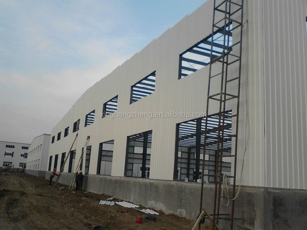 fast install structural steel frame warehouse for sale