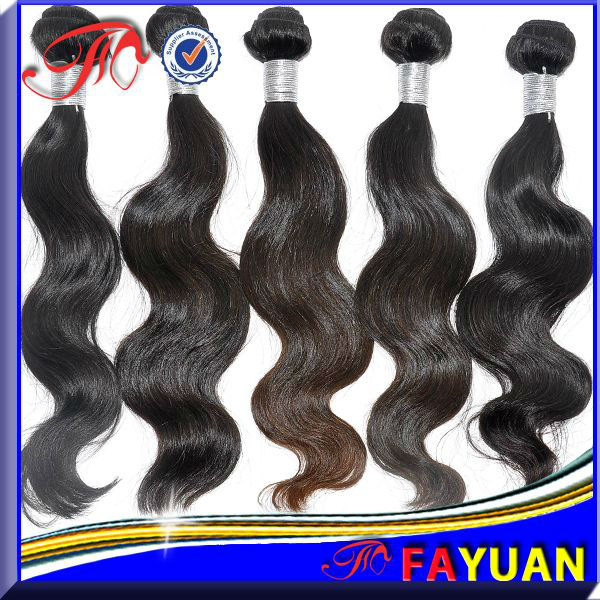 5A virgin brazilian beauty queen hair weave unprocessed weave hair