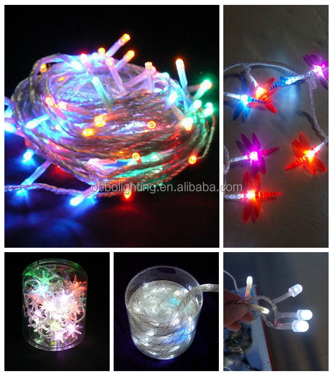 Promotion Led C7 String Lights For Holiday/home/party Decoration ...