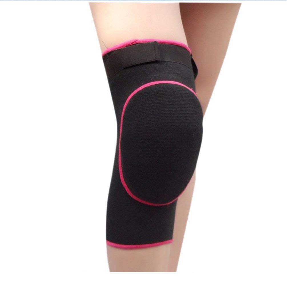 b6727fca39 Get Quotations · Protective Knee Pads Compression Sleeves Support for  Running, Jogging, Basketball, Sports, Joint