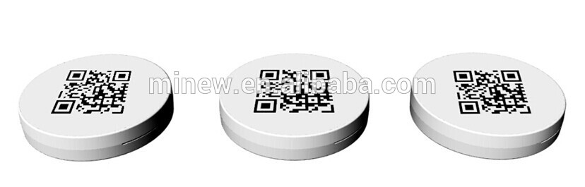 low cost Minew I9 ultra thin round white bluetooth smallest ble beacon