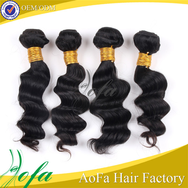 Alibaba top selling 6A grade feather extension for hair