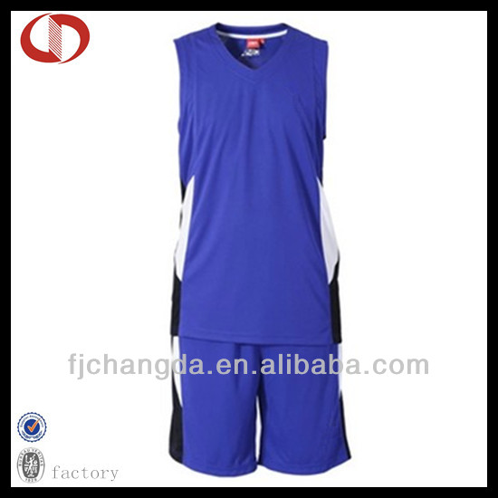 100% Polyester custom jersey basketball set design