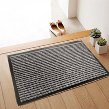 Hot sales classic <span class=keywords><strong>entree</strong></span> antislip double-geribbelde deur mat met PVC backing