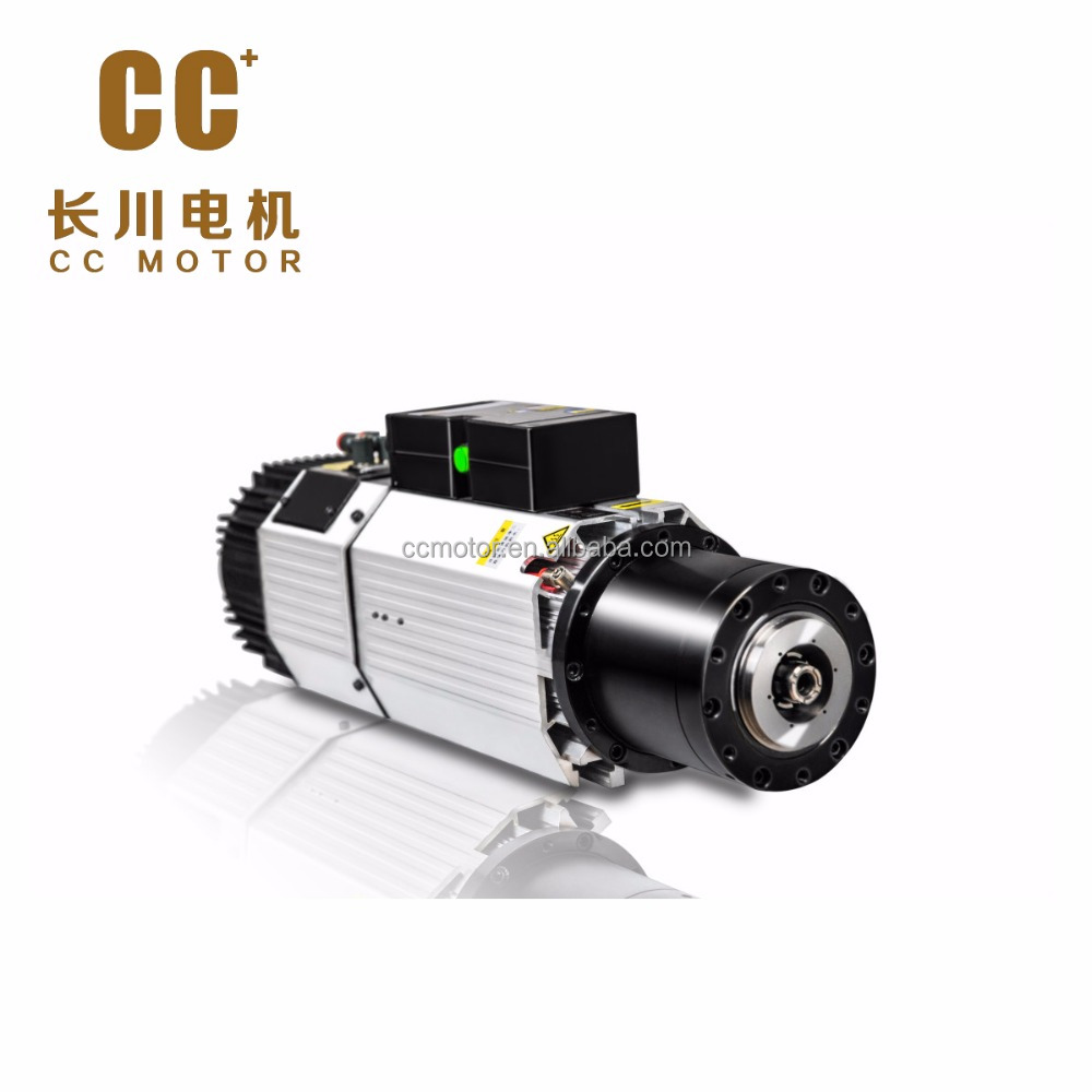 CC HSK63F MHS72-9012FSA ATC Spindle Motor for CNC with Independent fan