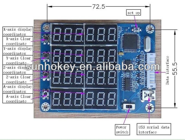 4 Axis Cnc Handle Controller Led Display Tb6560 Stepper Motor Driver For  Cnc Engraving Machine - Buy 4 Axis Cnc Handle Controller,4 Axis Cnc Handle