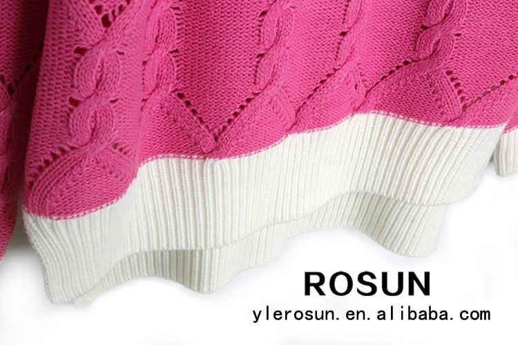 Nuevo Diseño Caliente Y Suave Patrones Que Hacen Punto Suéteres ...