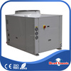 Intelligent packaged type high COP scroll type compressor water cooling unit