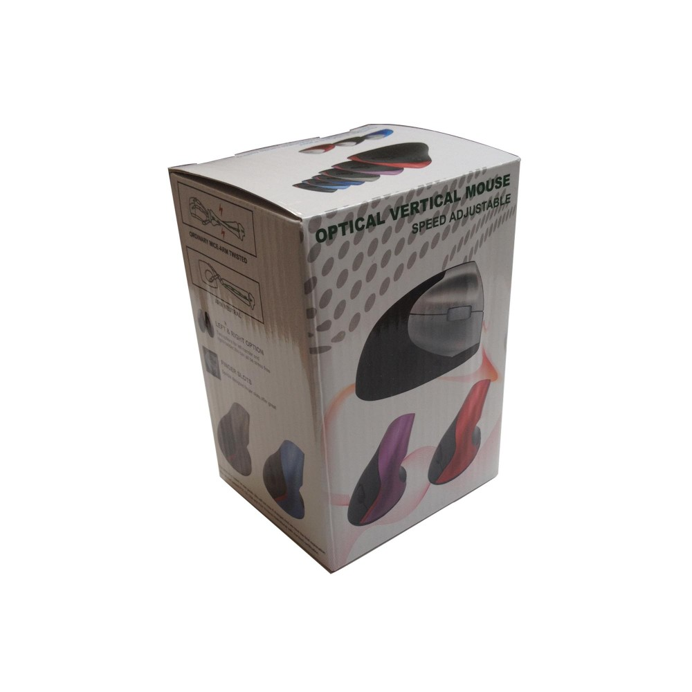 fbef0df8666 VMW-31 2.4Ghz Ergonomic Vertical Wireless Mouse Drivers Brand Custom  Rechargeable Wireless Mouse and