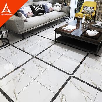 Living Room Modern Floor Tile Design 600x600 Carrara White Polished Glazed  Porcelain Tiles - Buy Living Room Carrara White Floor Tile,600x600 White ...