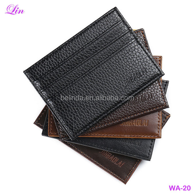 FREE shipping by DHL/FEDEX /SF PU Leather Men Business ID Credit Card <strong>Wallet</strong>