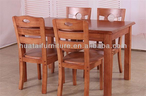 Mesa y sillas cocina comedor - Sillas madera cocina ...