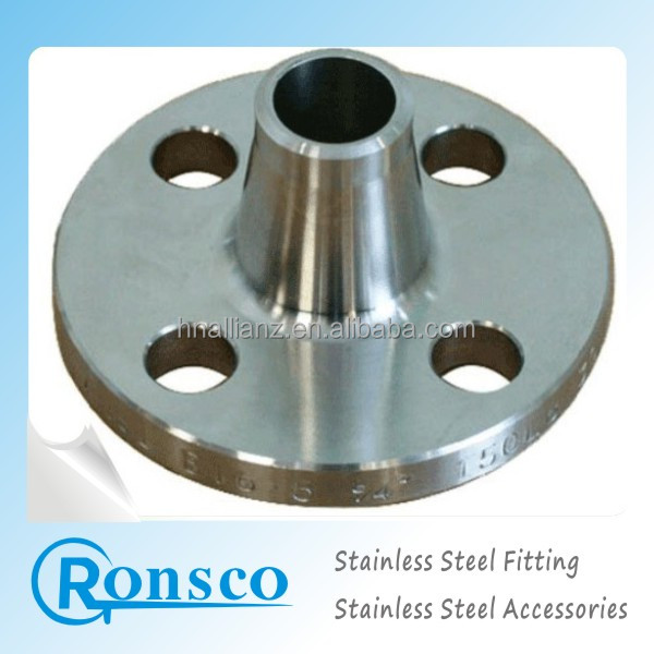 Cast Flange, Used for Pipe Fittings, Fast Connection, Made of Stainless Steel