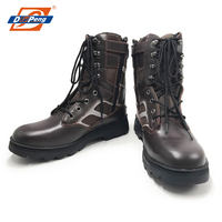 popular american style side zipper high ankle army military tactical boots