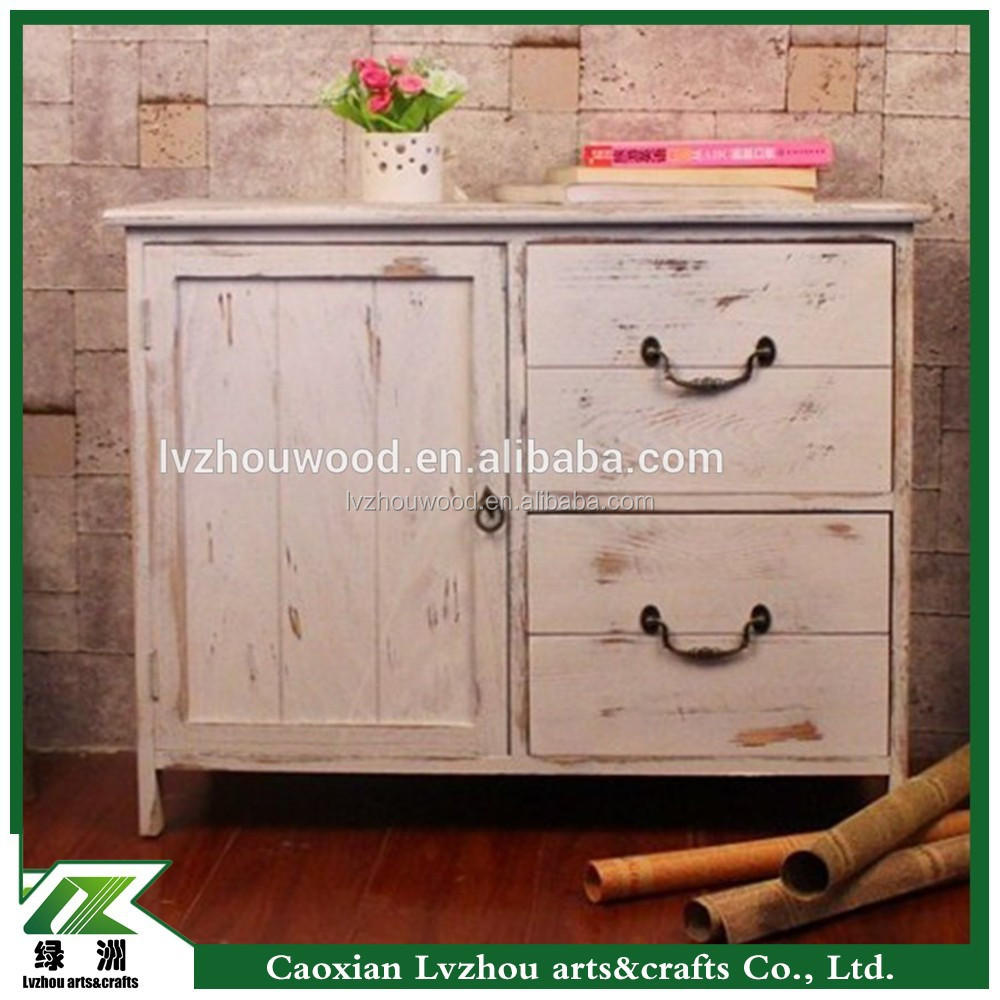 Antique Solid Wood Kitchen Cabinet from Chinese Manufacturer