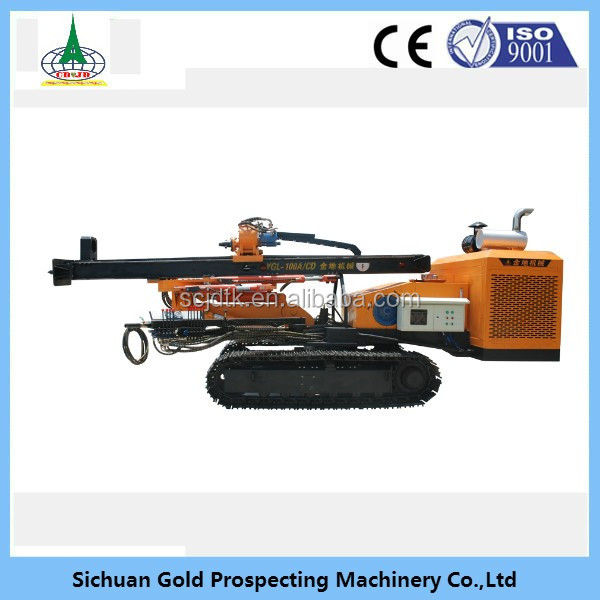 YGL-100A/C portable water well oil and gas drill rig machine