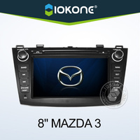 "2010 hot selling 8"" HD Touch screen 2 din mazda 3 car audio"