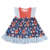 Factory direct comfortable halloween adorable polka dot floral girls' dress