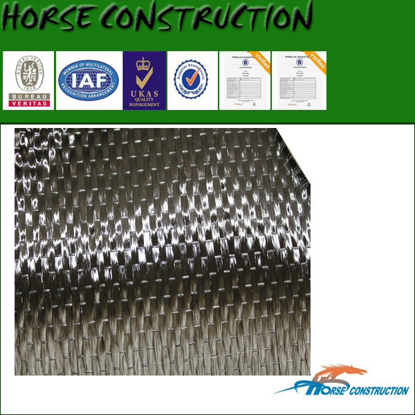 house strengthen material, carbon fiber tissue, unidirectional weave fabric