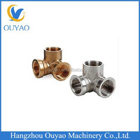 Brass Steric Tee Pipe Fitting: Female G Threaded Brass Tee