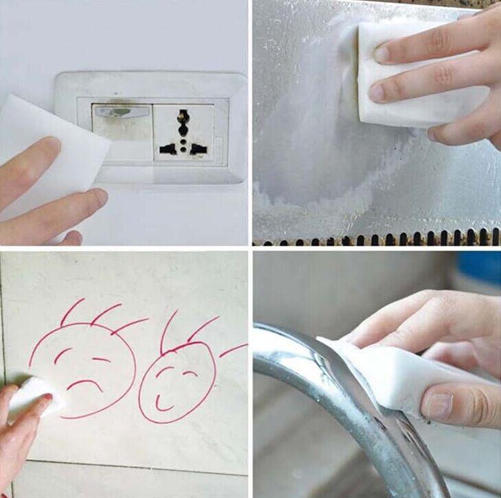 使用科技海綿要小心