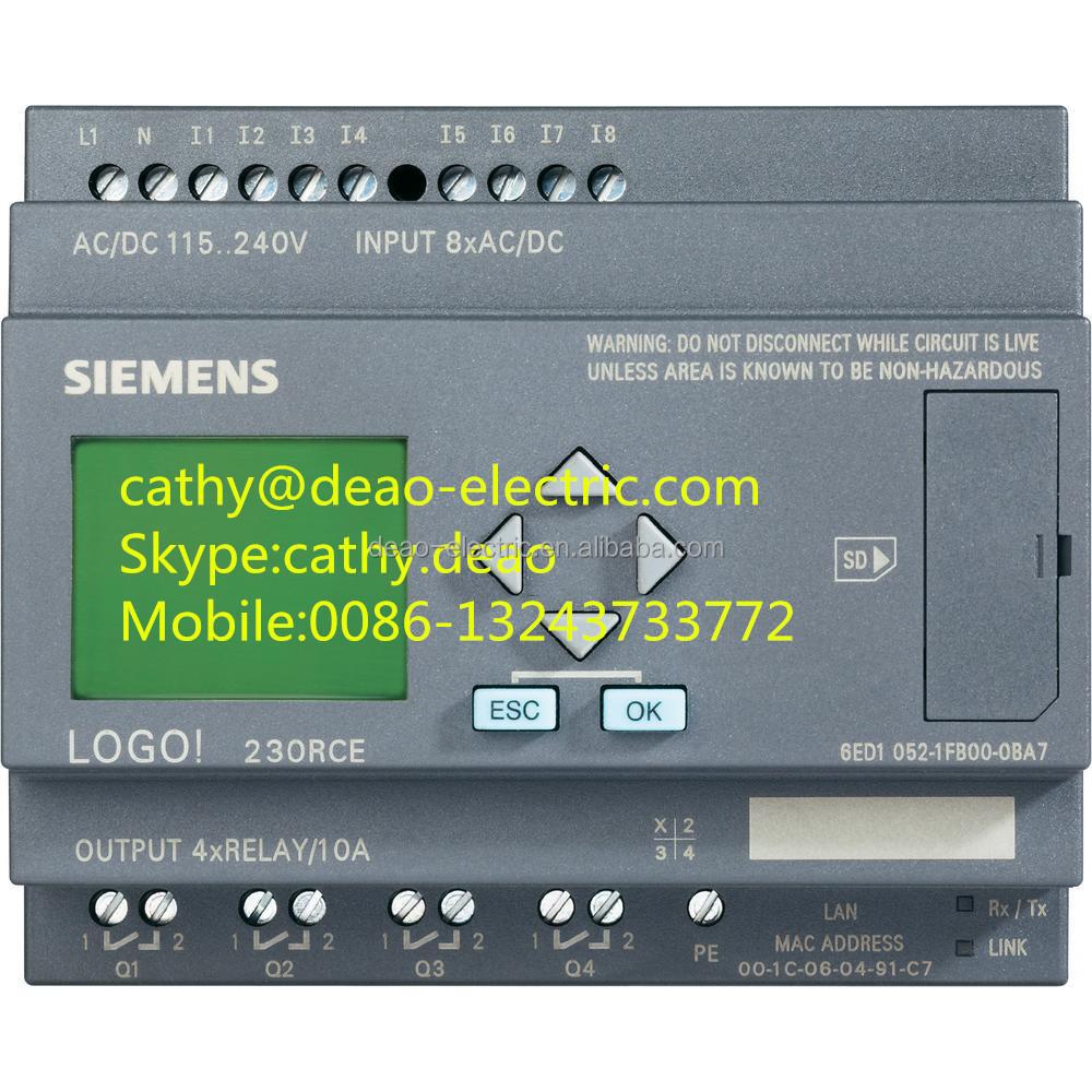 Siemens Logo 8 New Logo Plc 6ed1052-2cc01-0ba8 - Buy Siemens Logo  8,6ed1052-2cc01-0ba8,6ed1052-2cc01-0ba8 Product on Alibaba.com