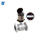 Smart Low cost 25mm water flow meter waste conductivity water battery powered electromagnetic flow meter