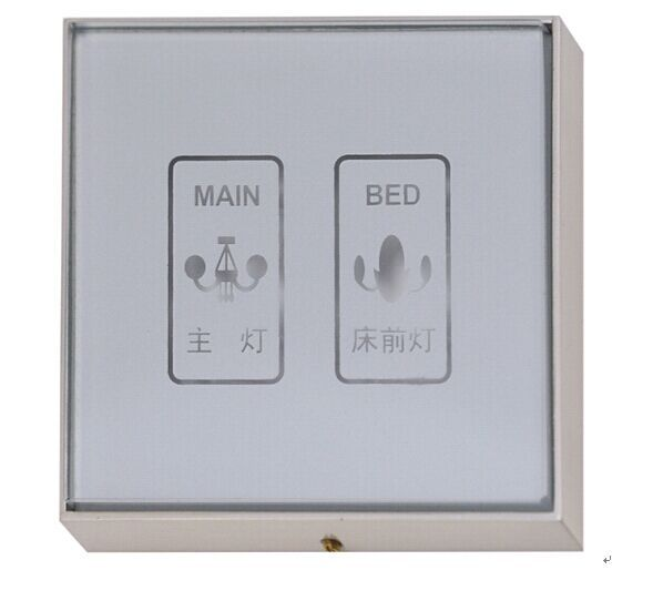 Touch energy--saving switch,1gang 2ways wall touch switch with LED