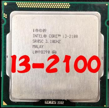 Intel Core i3 2100 Processor 3.1GHz 3MB Cache Dual Core Socket 1155 Qual Core Desktop I3-2100 CPU