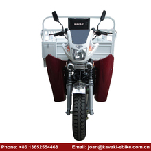 China Motorbikes 200cc Engines 3 Wheel Motorcycle Car Price Motorized Tricycles for Adults with Hood and Protect Board