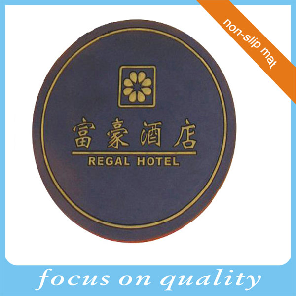 high quality customized micro injection 3d hotel promotion non slip car mat