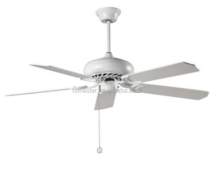 Europe style 42inch white color industrial ceiling fan