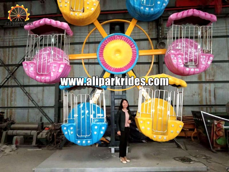 Funny and popular amusement kids mini ferris wheel for sale